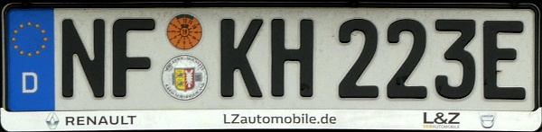 Germany electric vehicle close-up NF KH 223 E.jpg (72 kB)