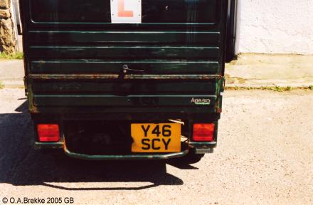 Great Britain former normal series rear plate Y46 SCY.jpg (22 kB)