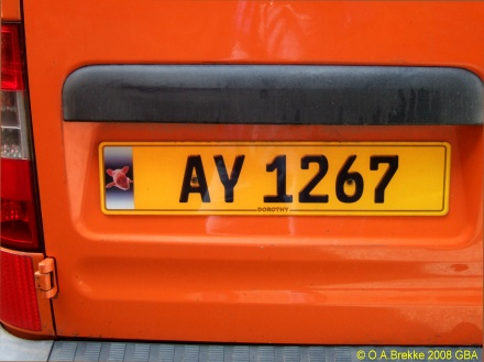 Alderney normal series rear plate AY 1267.jpg (54 kB)