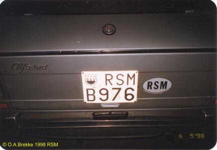 San Marino former normal series RSM B976.jpg (15 kB)
