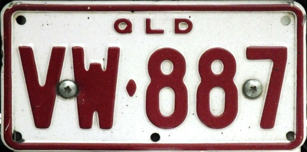 Australia Queensland former motorcycle series close-up VW·887.jpg (84 kB)