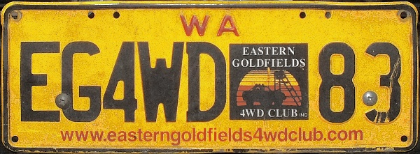 Western Australia corporate personalized series close-up EG4WD 83.jpg (101 kB)