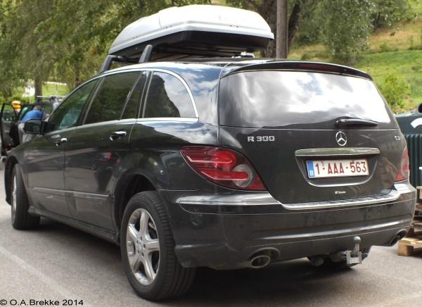 Olav's Belgian license plates - Number plates of Belgium
