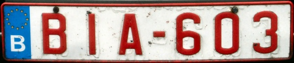 Belgium former normal series front plate with euroband close-up BIA-603.jpg (44 kB)