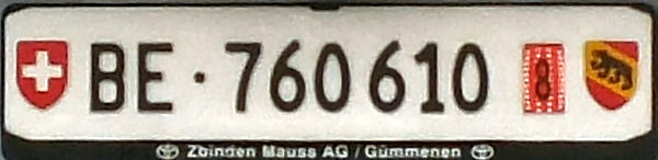 Switzerland temporary series rear plate close-up BE·760610.jpg (38 kB)