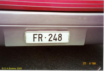 Swizerland normal series front plate FR·248.jpg (19 kB)