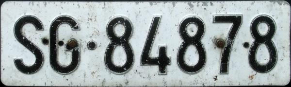 Switzerland normal series former style front plate close-up SG·84878.jpg (61 kB)