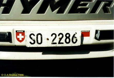 Switzerland normal series former style front plate SO·2286.jpg (21 kB)