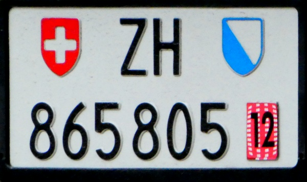 Switzerland temporary series rear plate close-up ZH 865805.jpg (107 kB)