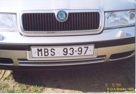 Czech Republic former normal series, Skoda block MBS 93-97.jpg (23 kB)