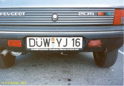 Germany normal series former style DÜW-YJ 16.jpg (26 kB)