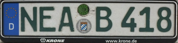 Germany road tax free series close-up NEA B 418.jpg (45 kB)
