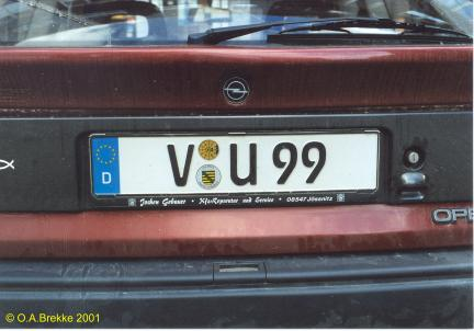 Olav S German License Plates Text Only Version Page 1 Number