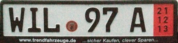 nummerschilder für deutschland