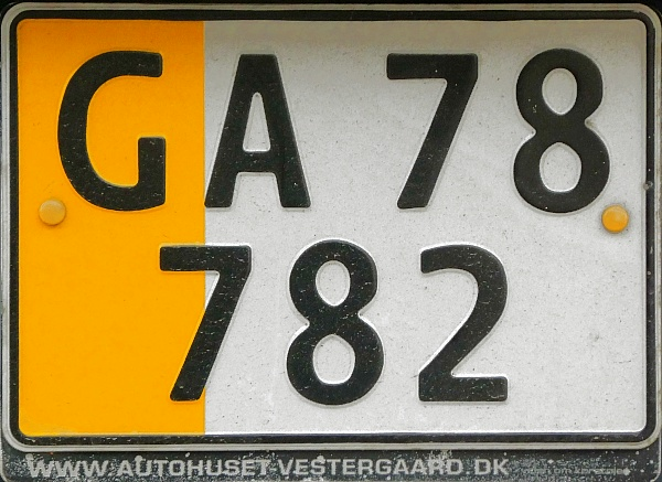 Denmark former private goods vehicle series close-up GA 78782.jpg (149 kB)