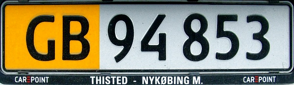 Denmark former private goods vehicle series close-up GB 94853.jpg (65 kB)
