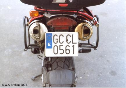 Spain former normal series motorcycle remade GC CL 0561.jpg (22 kB)