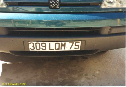 France former normal series front plate 309 LQM 75.jpg (22 kB)