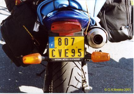 France former normal series motorcycle 807 CVE 95.jpg (29 kB)