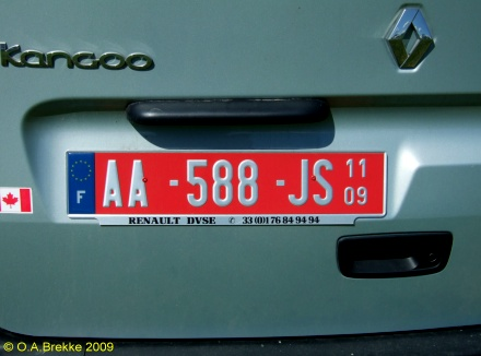 Olav S French License Plates Text Only Version Page 1 Number