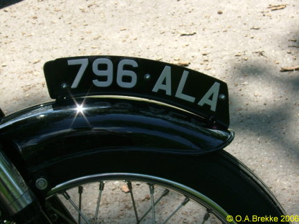 Great Britain former normal series motorcycle front plate 796 ALA.jpg (45 kB)