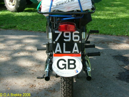Great Britain former normal series motorcycle rear plate 796 ALA.jpg (54 kB)