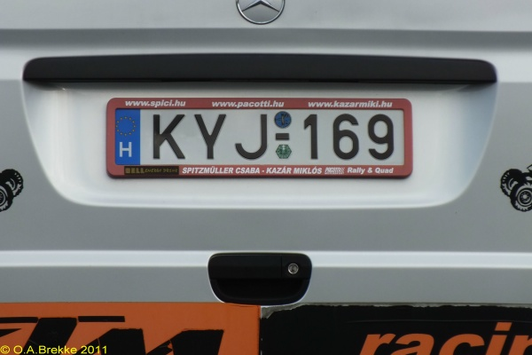 Olav s hungarian license plates duplicates number plates of hungary