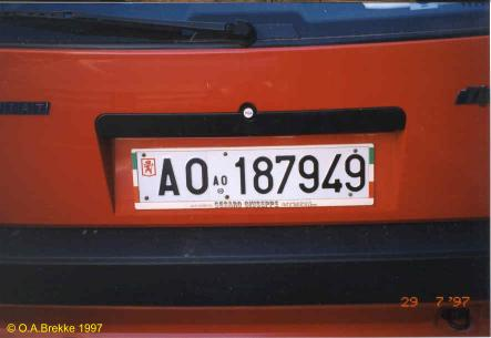 Italy former normal series rear plate AO 187949.jpg (17 kB)