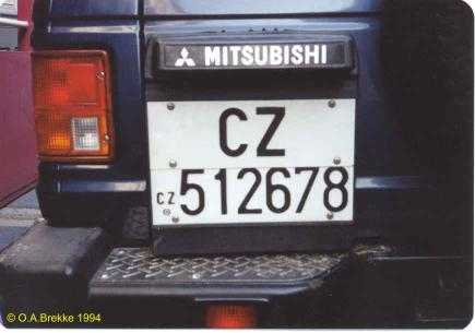Italy former normal series rear plate CZ 512678.jpg (19 kB)