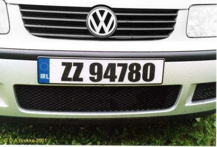 olav 39 s irish number plates license plates of ireland. Black Bedroom Furniture Sets. Home Design Ideas