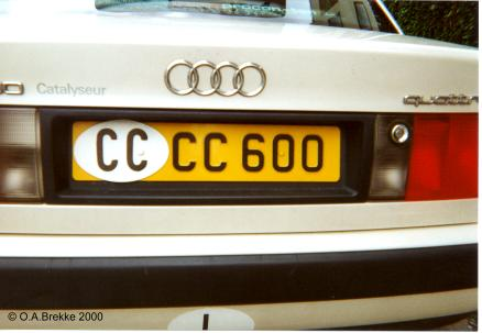 Olav 39 s luxembourg license plates duplicates number for Consul license