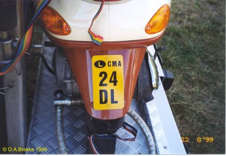 Luxembourg former small motorcycle series CMA 24 DL.jpg (26 kB)