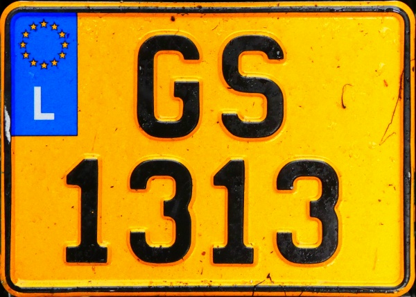 Luxembourg personalized within the normal series motorcycle close-up GS 1313.jpg (151 kB)