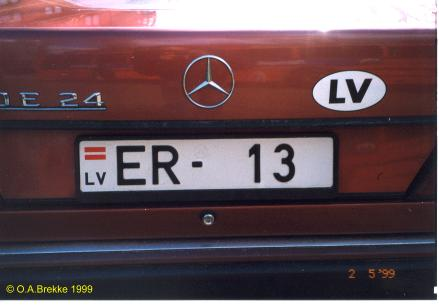 Olav s latvian license plates text only version number plates of