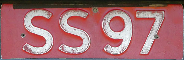 Norway former trade plate series close-up SS 97.jpg (64 kB)