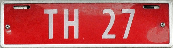 Norway trade plate series former style close-up TH 27.jpg (54 kB)