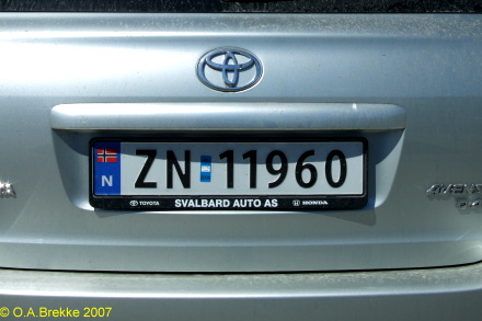 Svalbard registration imported to mainland Norway former style ZN 11960.jpg (58 kB)