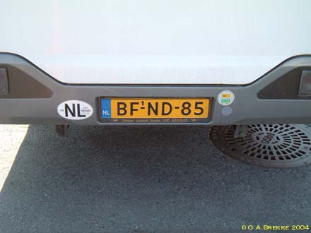 Netherlands replacement plate heavy commercial series BF-ND-85.jpg (18 kB)