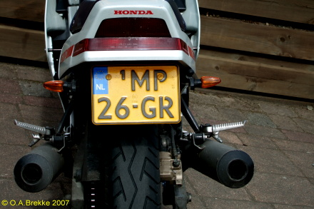 Netherlands replacement plate former motorcycle series MP-26-GR.jpg (72 kB)