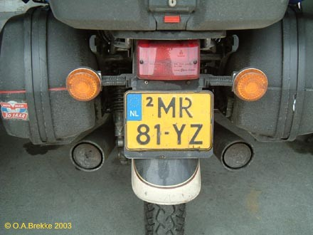 Netherlands replacement plate former motorcycle series MR-81-YZ.jpg (37 kB)