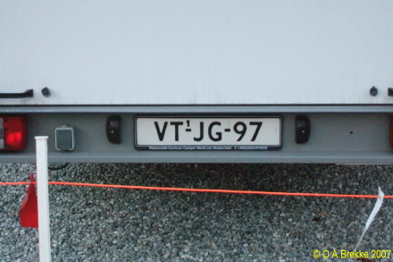 Netherlands replacement plate trailer repeater plate former light commercial series VT-JG-97.jpg (65 kB)