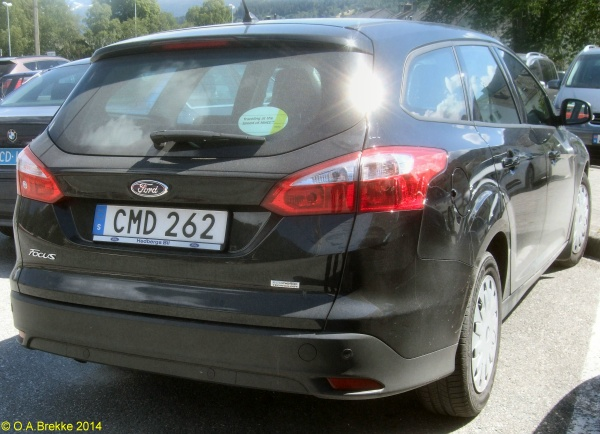 Personalized Front License Plates >> Olav's Swedish license plates - Number plates of Sweden