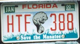 USA Florida Save the Manatee optional passenger series former style close-up HTF 388.jpg (11 kB)