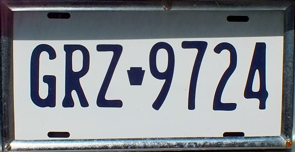 USA Pennsylvania normal series replacement plate close-up GRZ-9724.jpg (75 kB)