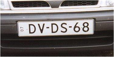 Netherlands replacement plate DV-DS-68.jpg (17 kB)