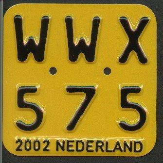 Netherlands moped series 2002 issue WWX 575.jpg (28 kB)