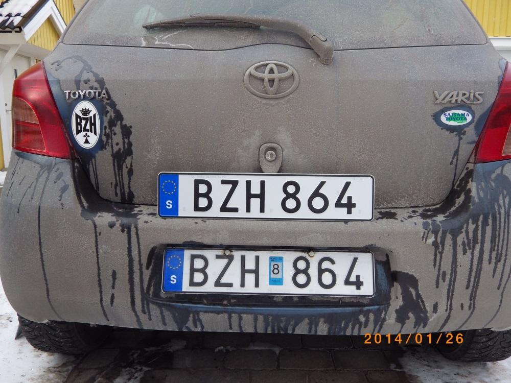 Olav\'s European license plate history