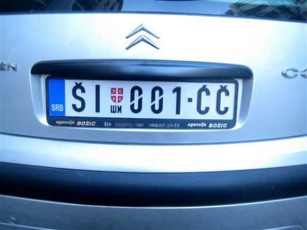 polske nummerplader